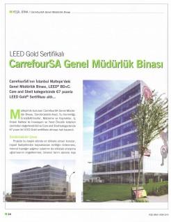 LEED Gold Sertifikalı CarrefourSA Genel Müdürlük Binası