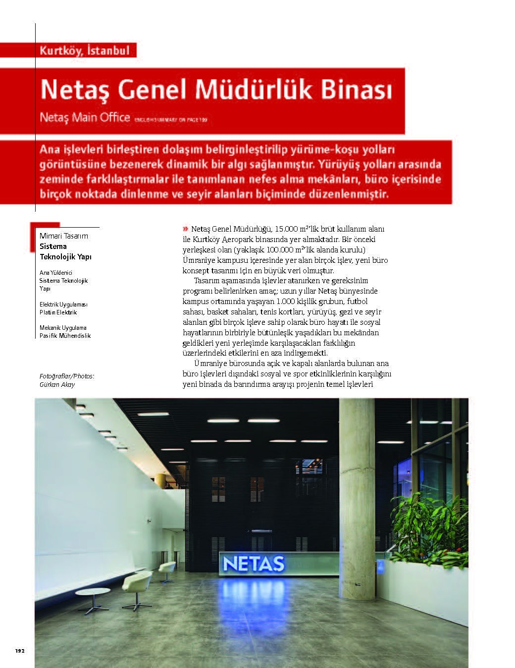 Netaş Main Office